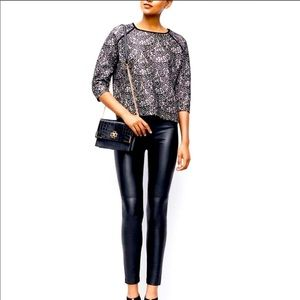 Ann Taylor Vegan Leather Pants Leggings